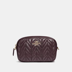 Coach Convertible Quilted Belt Bag Fanny pack